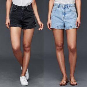 •GAP• Original High Rise Shorts
